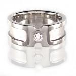 Platinum Gents Diamond Wedding Ring