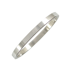 Platinum Wedding Ring Flat - Polished - 2mm